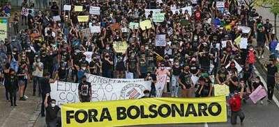 Bolsonaro llama «marginales» y «terroristas» a manifestantes