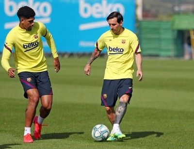 Messi enciende las alarmas en Barcelona