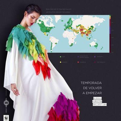 Celebran el Día del Medio Ambiente con moda sostenible