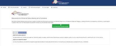 Está disponible el portal de la Contraloría para control del uso del dinero de emergencia sanitaria