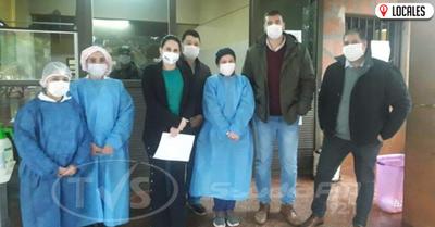 Verifican situación de funcionarios e instalaciones de los hospitales de Itapúa