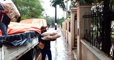SEN y Gobernación de Central entregan 95.000 kilos para ollas populares