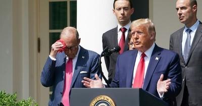 """Trump dice que EEUU ha """"superado en gran medida"""" la pandemia del coronavirus"""
