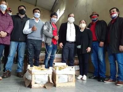 Productores donan banana a comedores – Prensa 5