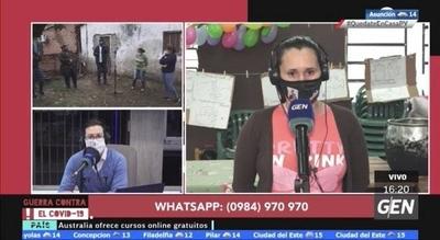 HOY / Micrófono abierto en el barrio San Blas de la ciudad de Luque