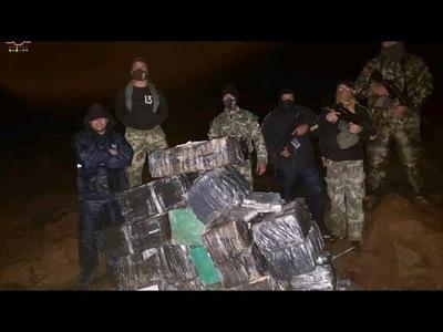 GOLPE AL NARCOTRÁFICO: MEDIA TONELADA DE MARIHUANA INCAUTADA POR LA ARMADA PARAGUAYA EN EL ESTE