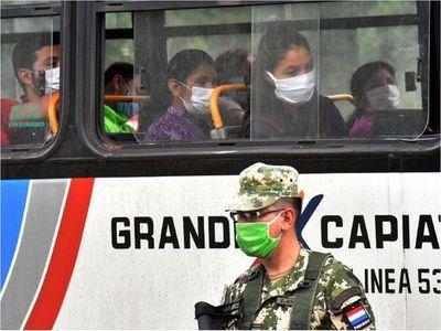 Capiatá y San Lorenzo con mayor riesgo de contagios en Central
