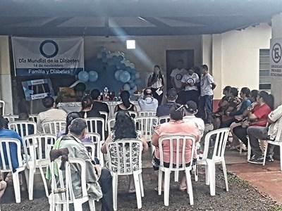 Realizan charlas con motivo del día Mundial del Diabetes