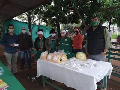 Entregan elementos de trabajo a campesinos en Yby Yaú