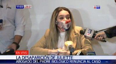 Abogada dice que Juliette está viva y dispara contra Tuma
