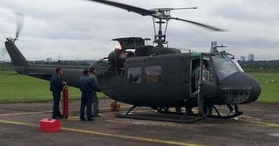 Firma niega irregularidades en licitación para mantenimiento de helicópteros