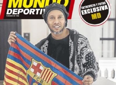 Ronaldinho dice que hace deporte casi todos los días