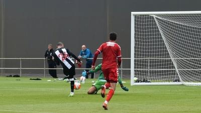 Miguel Almirón anotó un gol en la victoria del Newcastle en amistoso