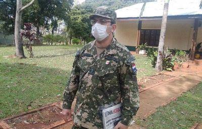 Paraguarí: suben a 71 los casos positivos relacionados al militar