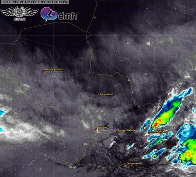 Alertan sobre lluvias y tormentas en el Sur y Este