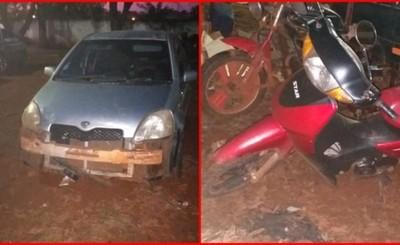 Choque entre dos vehículos derivó en una mujer lesionada