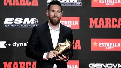 Lionel Messi está sexto en la tabla por el Botín de Oro 2019/2020