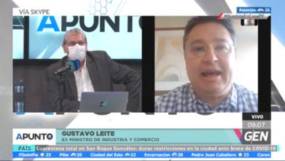 HOY / Gustavo Leite, exministro de Industria y Comercio, sobre el rol de las Fuerzas Armadas