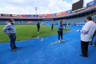 APF concluyó inspección de estadios para el retorno del fútbol profesional