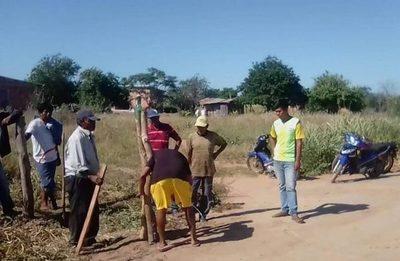 Nativos del Chaco, desesperados por falta de alimentos y agua