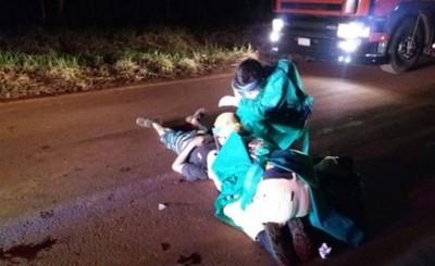 Choque frontal entre motocicletas deja un muerto