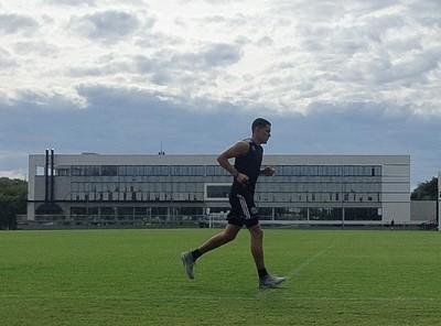 Olimpia va por su tercer día de entrenamientos