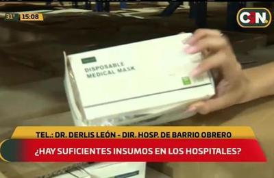 ¿Hay suficientes insumos médicos en el Hospital de Barrio Obrero?