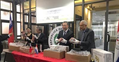 Paraguay exportó a Taiwán unas 6 toneladas de carne refrigerada