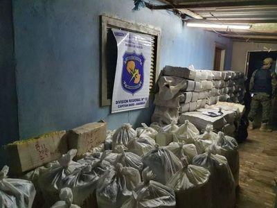 Sacan de circulación más de 3 mil 700 kilos de marihuana en Capitán Bado