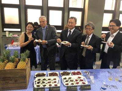 Taiwán degustó el primer cargamento de carne refrigerada paraguaya