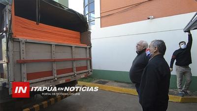 ENTREGAN EQUIPOS PARA ALBERGUES DEL CEMA- PIRAPO