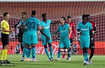 Barcelona golea al Mallorca