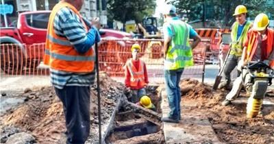 Retoman obras de alcantarillado en Asunción la próxima semana