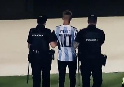 LaLiga iniciará acciones penales contra joven que buscó selfie con Messi