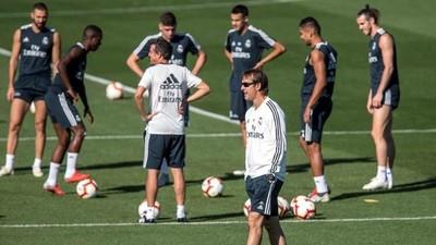 El Real Madrid estrena su 'nueva normalidad'