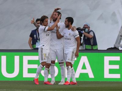 Resumen del partido Real Madrid 3-1 Eibar