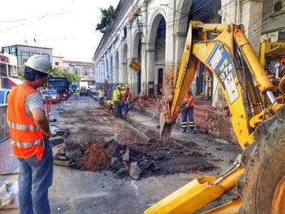 Desde este lunes prevén trabajos de alcantarillado en Asunción