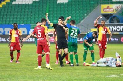 Braian, en el triunfo del Çaykur Rizespor