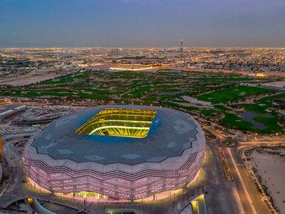 Catar inaugura otro estadio para la Copa Mundial del 2022