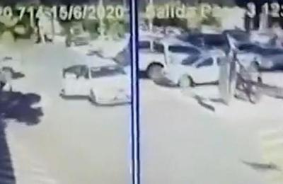 Perpetran asalto tipo comando en el estacionamiento del Shopping del Sol