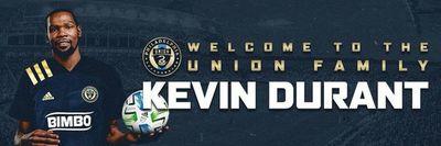 Kevin Durant compra el 5% de un club de la MLS