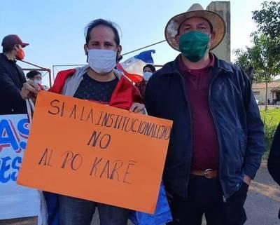 Organizaciones sociales exigieron reasignación del Ing. Casto González como jefe del MOPC de Misiones