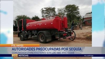 AUTORIDADES DE PRESIDENTE HAYES PREOCUPADAS POR SEQUÍA