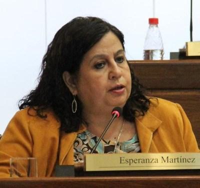 Pérdida de investidura de Esperanza Martínez no avanzaría por acuerdo entre Añetete y Frente Guasu