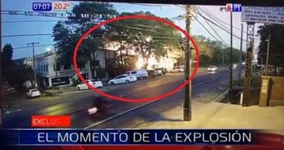 Video muestra momento de la fatal explosión