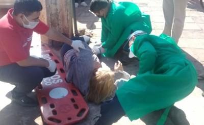 Mujer arrollada por motocicleta no soportó las lesiones y falleció
