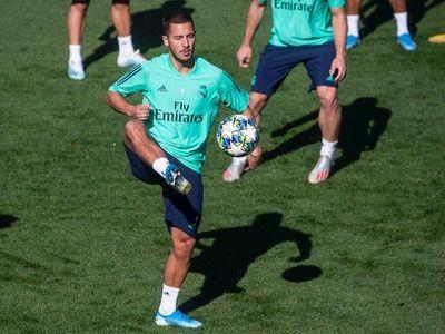Hazard y Bale se entrenan con el grupo