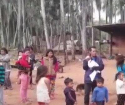 Indígenas abandonados claman por agua, electricidad y medicamentos