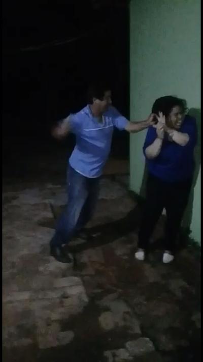 Detienen al hombre que golpeó a su pareja