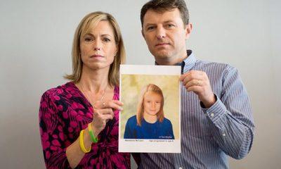 Padres de Madeleine McCann aseguran que información sobre la muerte de su hija es falsa